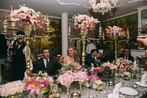 Illyria House Wedding Table